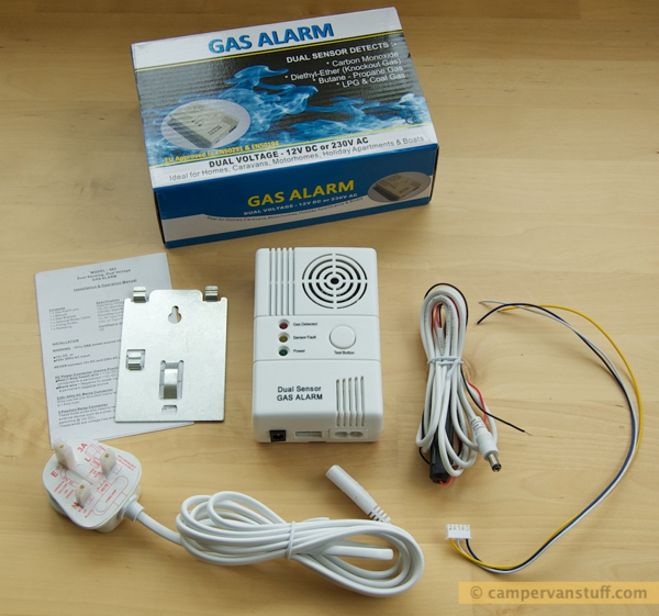 Contents 863 gas alarm