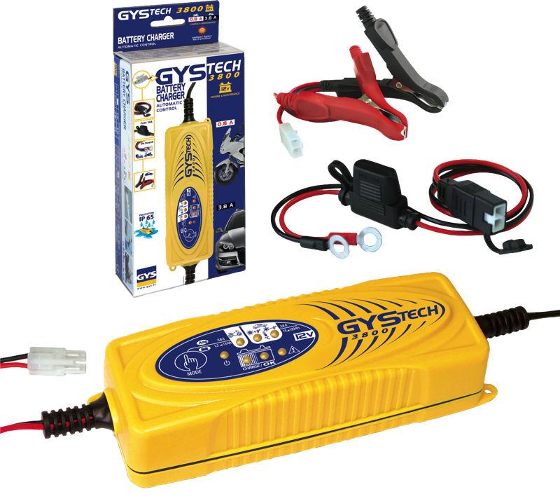 GYStech 3800 intelligent 12v battery charger for motorhomes