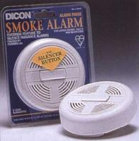 Safety - Fireangel smoke alarm with silencer button for