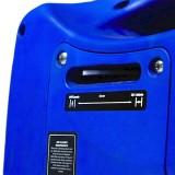 Choke control on the Hyundai HY1000Si generator.