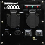 HY2000SI-LPG front panel.