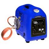 HYUNDAI HY2000SI-LPG dual fuel LPG gas / petrol pure sine inverter generator.