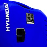 Pull handle for the manual recoil start on the The Hyundai HY2000Si petrol pure sine inverter generator.