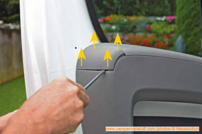 Security And Vehicle Heosafe Cab Deadlock Fiat Ducato