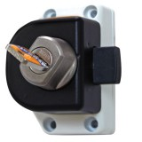 1. The HEOSafe cab door lock for Ford Transit from 2006 onwards. (14156)