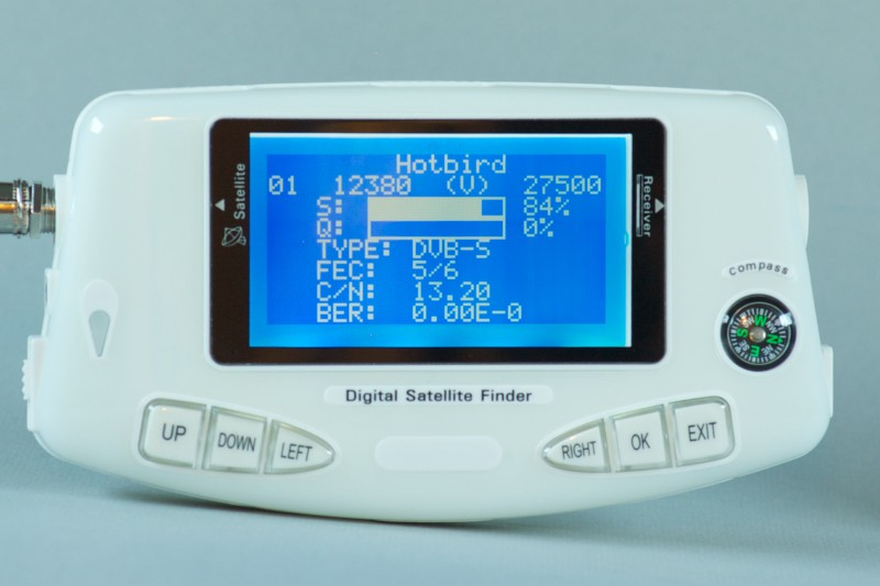 TV and satellite TV - SF600 Digital Satellite Finder LCD